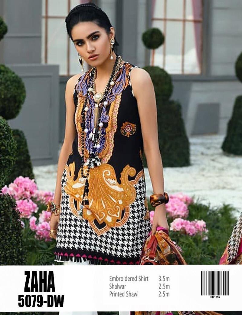 8da5e665a8 Zaha - Lawn - Women Fashion 2018, Code: C-9381