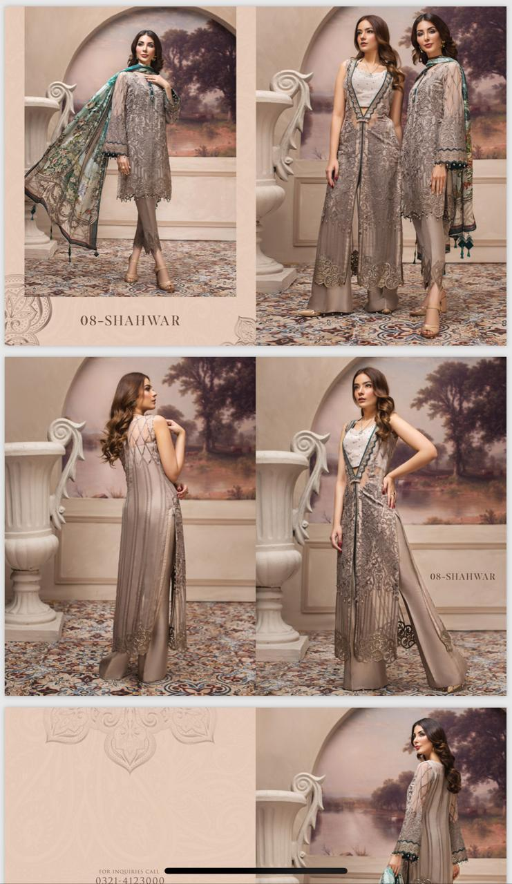 JAZMIN LUXURY CHIFFON COLLECTION 2019