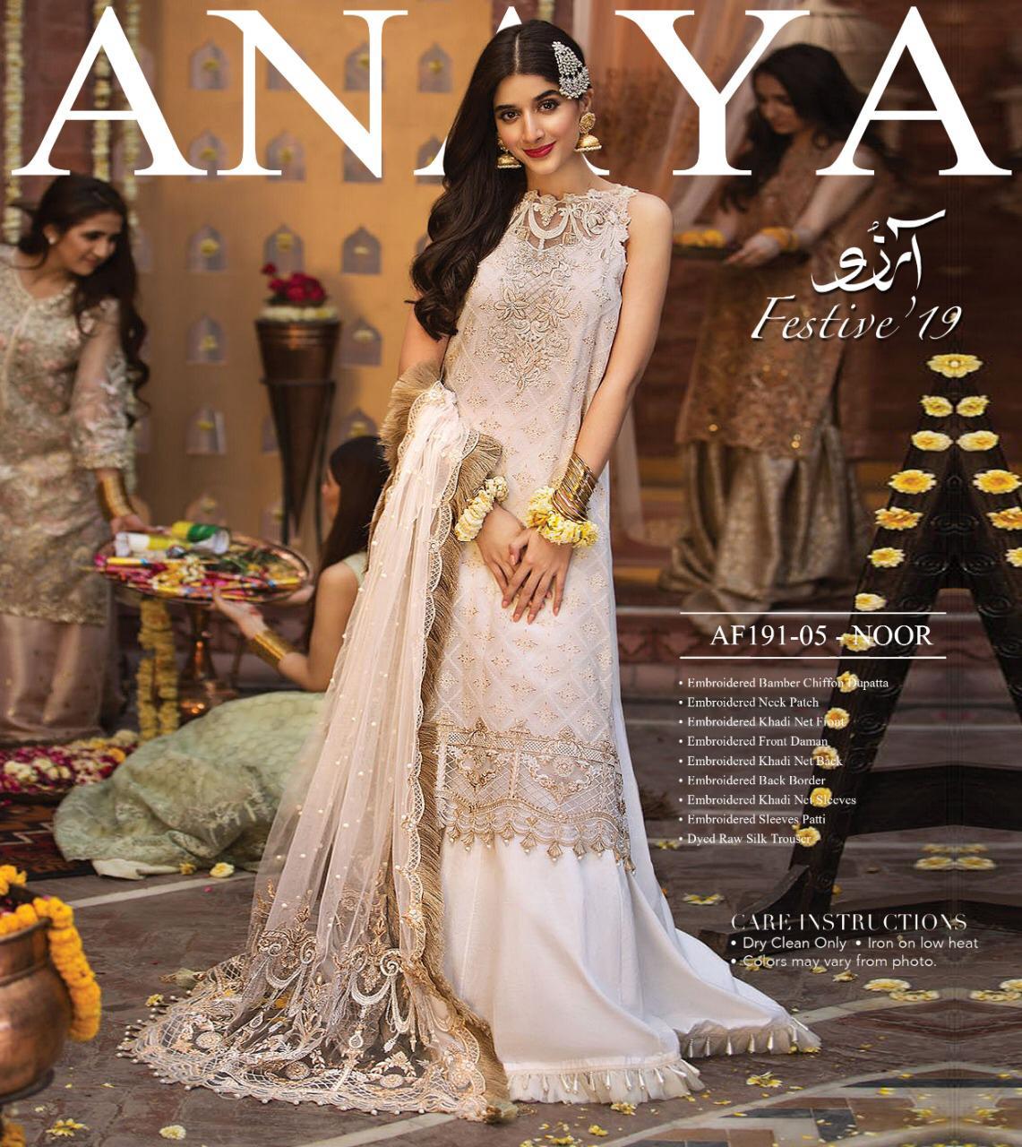 ANAYA FESTIVE 19