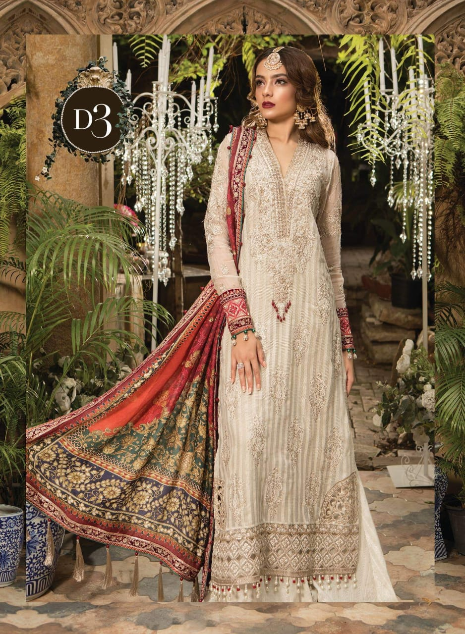 MARIA.B LUXURY EID CHIFFON COLLECTION 2019
