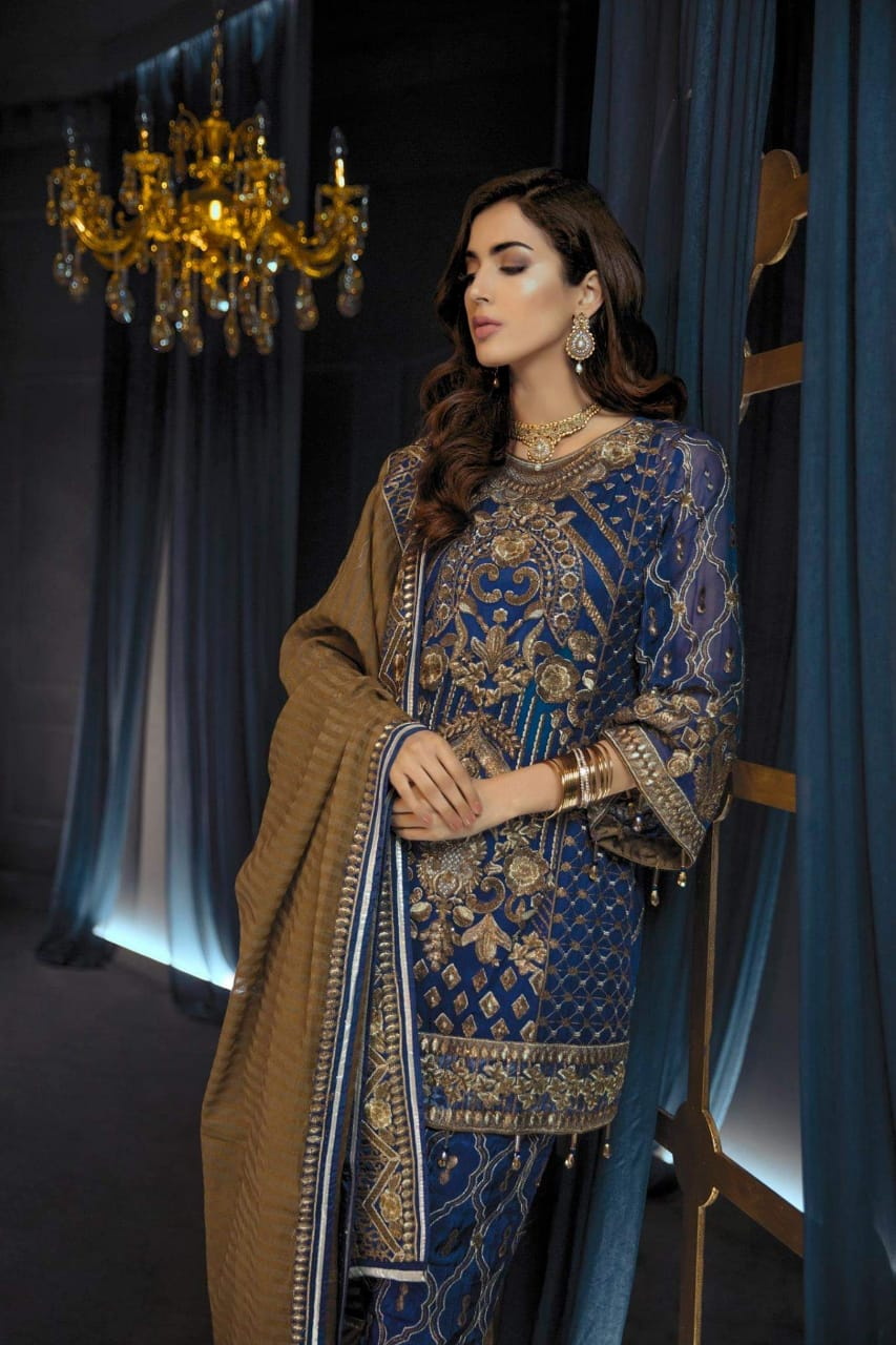 EMAAN ADEEL LATEST LUXURY CHIFFON