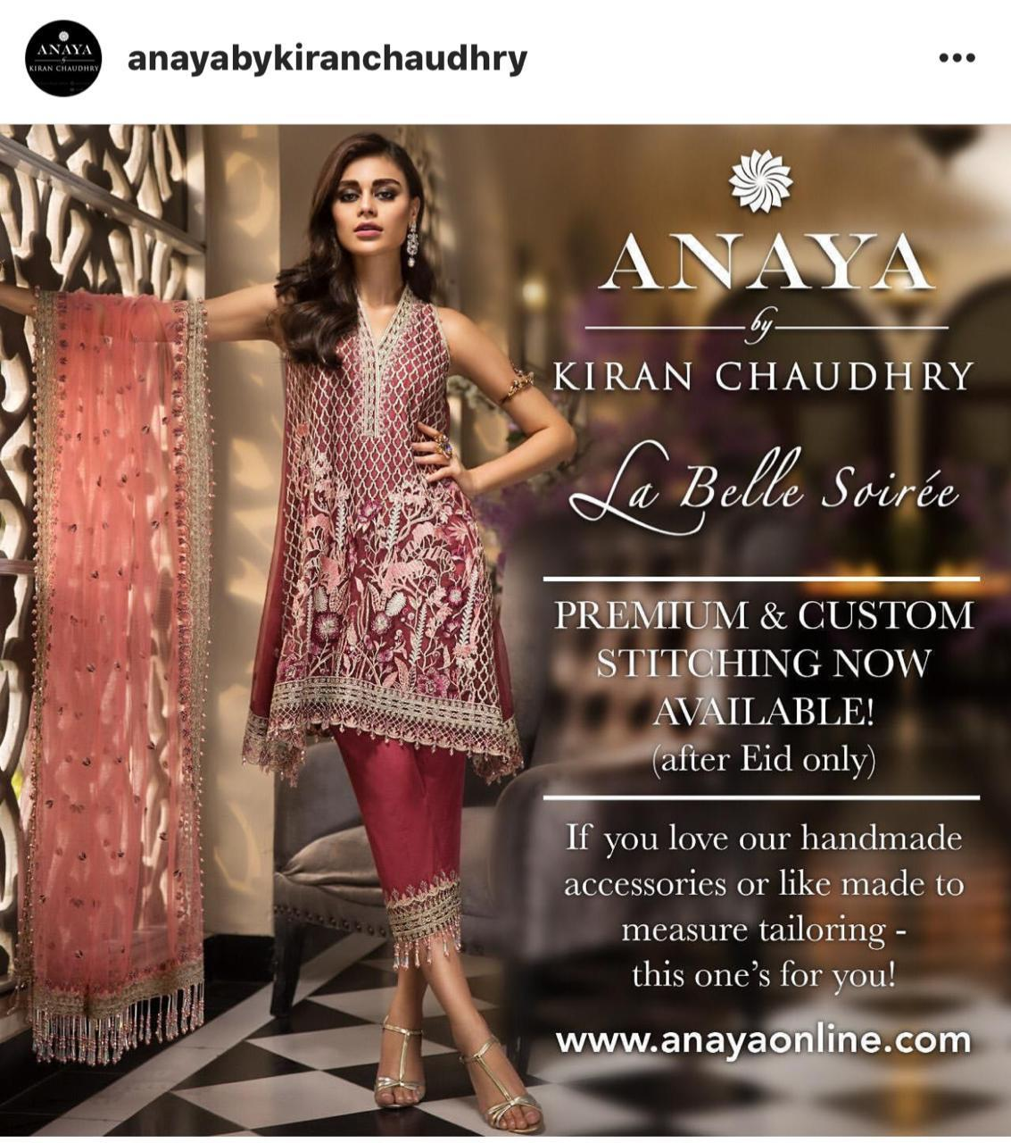 ANAYA LUXURY CHIFFON COLLECTION