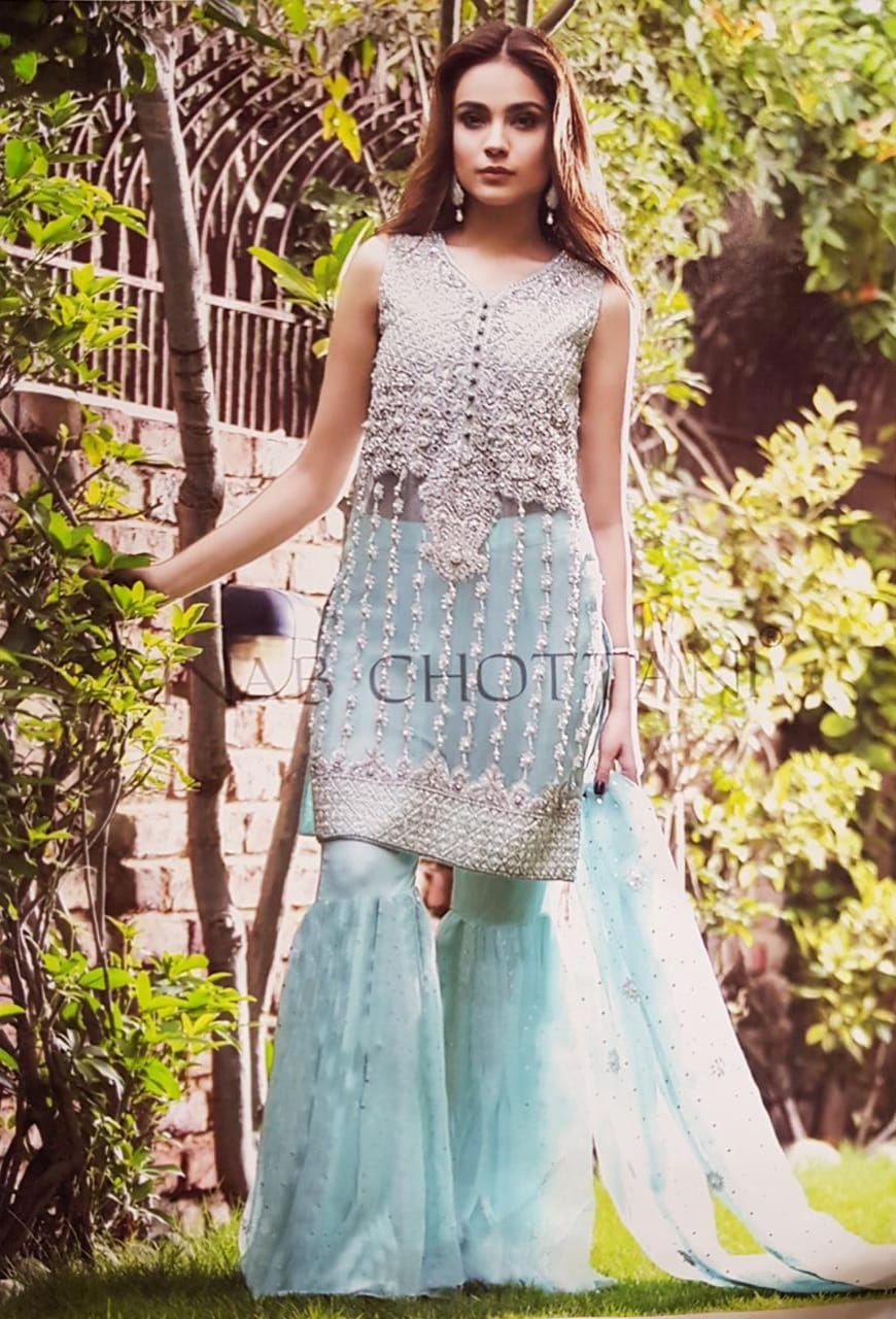 ZAINAB CHOTTANI HEAVY EMBROIDERED