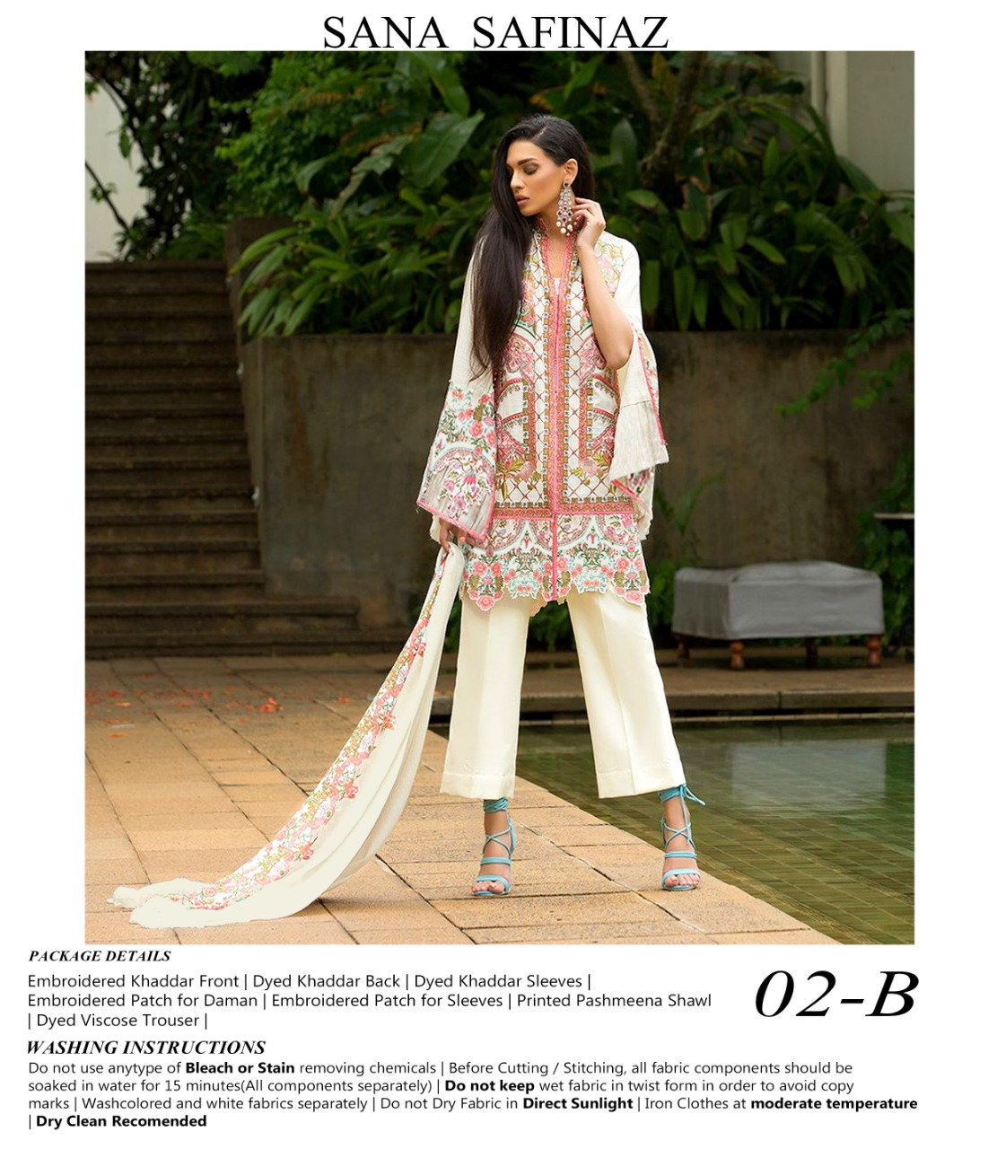 Iznik - Luxury Chiffon Collection Heavy Embroidered