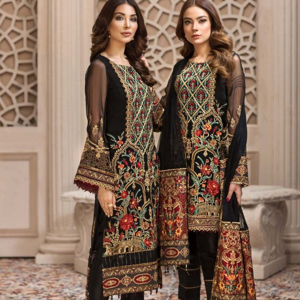 JAZMIN LATEST LUXURY CHIFFON COLLECTION