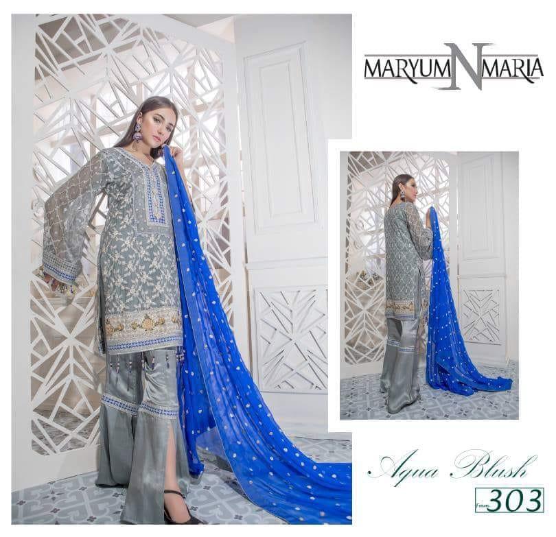 Maryum Maria - Chiffon - 3pc
