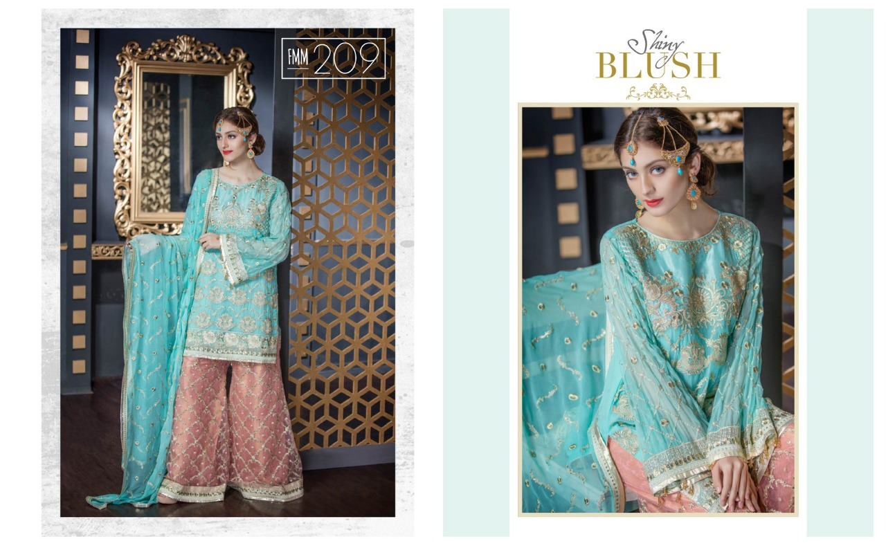 Blush - Chiffon - 3pc