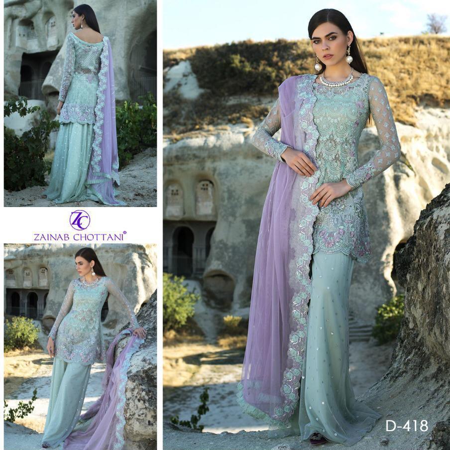 Zainab Chottani - Chiffon 3pcs