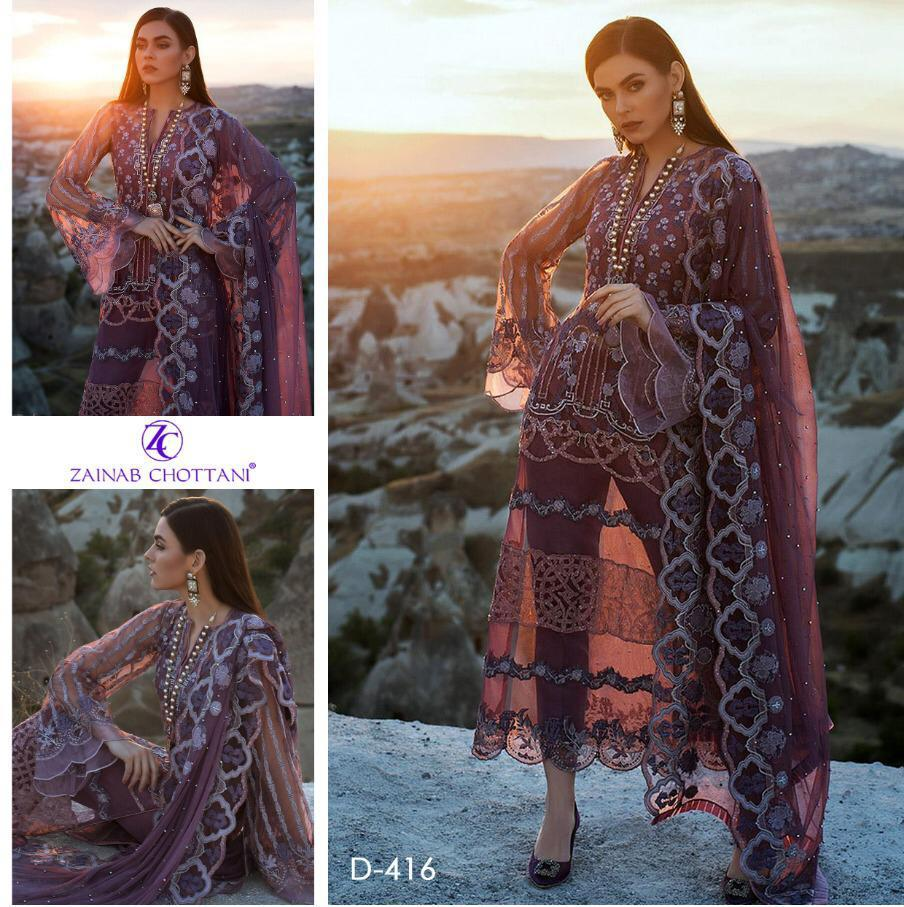 Zainab Chottani Luxury Chiffon Collection