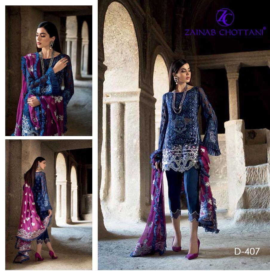 Zainab Chottani Luxury Chiffon