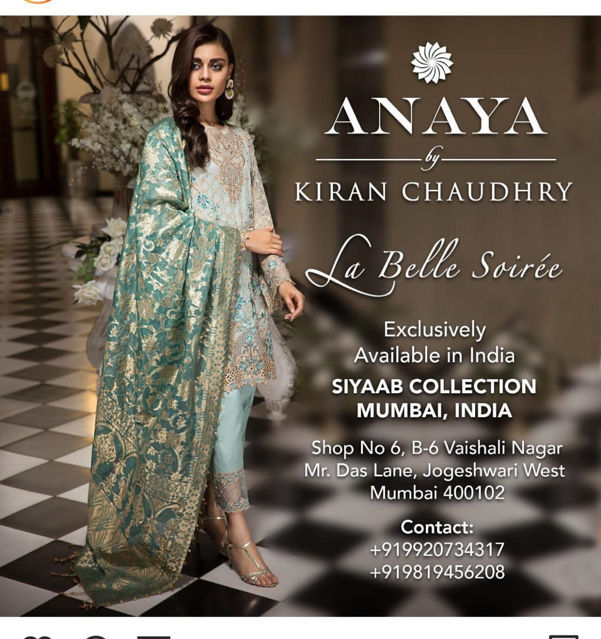 ANAYA LATEST LUXURY CHIFFON