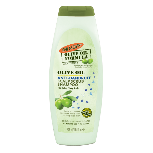 Anti-Dandruff Scalp Scrub Shampoo
