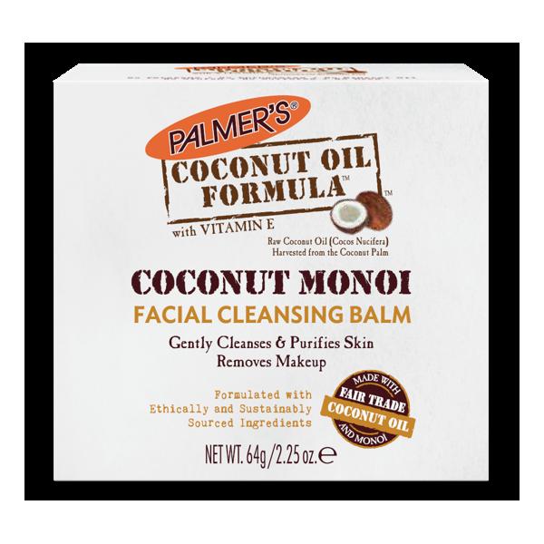 Coconut Monoï Facial Cleansing Balm