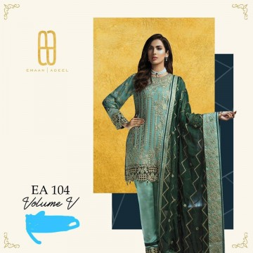 EMAAN ADEEL LATEST LUXURY CHIFFON COLLECTION