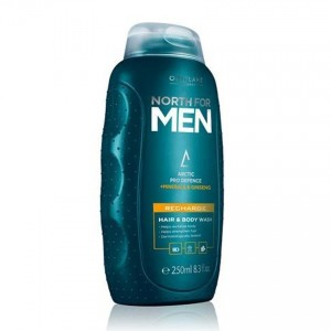 North For Men's Recharge Hair & Body Wash - 250ml