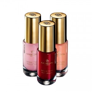 Pack Of 3 Oriflame Giordani Gold Intense Shine Nail Lacquer