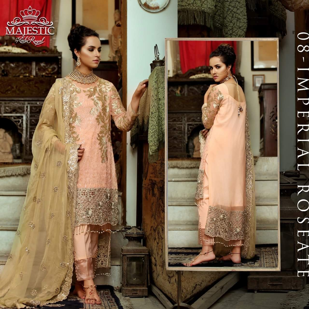 EMBROYAL LUXURY CHIFFON COLLECTION